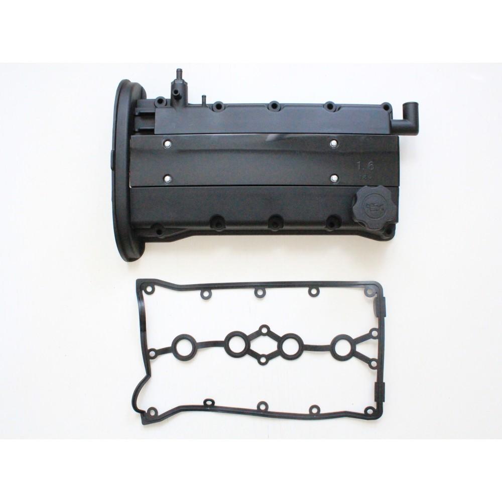 (Черная матовая)  Алюминиевая клапанная крышка ГБЦ GM 96473698